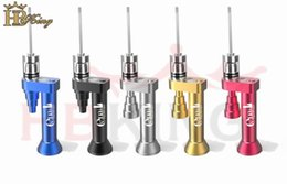 HBking new generation EVnail global pre-sale, function 6-1 easy to carry Glass bong Hookahs Household Sundries Smoking Accessories