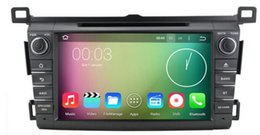 $enCountryForm.capitalKeyWord Canada - 8-Core 8 inch Android 6.0 Car Dvd Gps Navi Audio for Toyota RAV4 2013-2016 HD1024*600 1080P 2GB 32GB nand suppor steering wheel