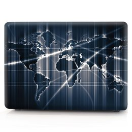 Macbook Retina 13 Inches Australia - Map-5 Oil painting Case for Apple Macbook Air 11 13 Pro Retina 12 13 15 inch Touch Bar 13 15 Laptop Cover Shell
