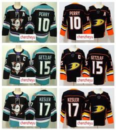 2018-2019 Анахаймские утки 15 Райан Гетцлаф Джерси 17 Райан Кеслер 10 Кори Перри Хоккейные Jerseys