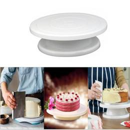 $enCountryForm.capitalKeyWord NZ - Plastic Cake Turntable Rotating Anti-skid Round Cake Decorating Stand Cake Rotary Table Plate Kitchen DIY Pan Baking Tool