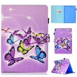 ipad pro leather folio 2019 - PU Leather Case For Apple iPad Pro 10.5 Cover Fundas Tablet Fashion Painted Skin Flip Stand Shell For iPad Pro 10.5 disc