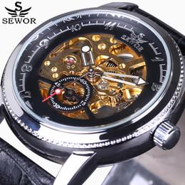 $enCountryForm.capitalKeyWord Australia - Sewor2018 mens watches top brand luxury Skeleton Casual Mechanical Watch Men Designer Automatic Wristwatches Mechanical Watch