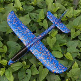 Child Models Stockings NZ - Free shipping Resistance to falling models Hand throwing airplane Throwing an airplane Glider EPP Foam assembly Model toys Children outdoor