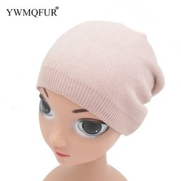 Free Knitting Kids Hats Australia - Hand Knitted Kids Hat For Children Autumn And Winter Warm Skullies Beanies Caps 1 to 2 Years old Baby Free Shipping 2018 YWMQFUR