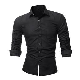 Hot Shirts Man NZ - Party Shirt Men Casual Elegant Plaid Shirts Club Big Size 4XL Male Blouse Plus Size Casual 2018 Blusa Vintage Hot Sale Shirts