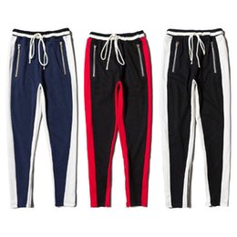 Chinese  Justin Bieber 1a:1 High Quality Fear Of God Sweatpants Women Men Fashion Casual Drawstring Tracksuit Joggers Sweat Pants FOG manufacturers