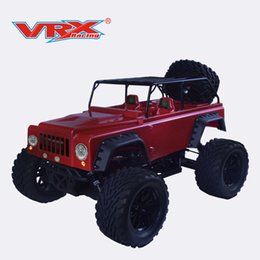 China RC toy Jeep rc car VRX Racing Mega Sword-Jeep RH1001M 1 10 nitro monster Jeep version single speed with 18 engine car supplier toys engine car suppliers