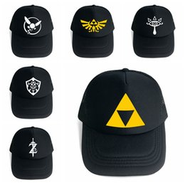 773e68b7 The Legend of Zelda Baseball Hat 6 Styles Game Anime Symbol Mesh Trucker Cap  Cosplay Costume Party Hats OOA5483