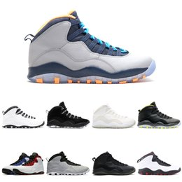 Chinese  Bobcats 10 Basketball Shoes 10s I'm back cool grey infrared fusion red venom Powder Blue men Sports Sneakers manufacturers