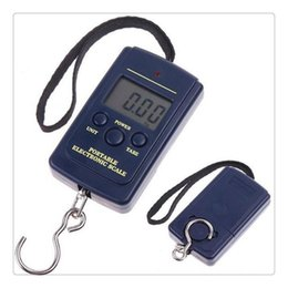 Wholesale Fishing Accessories Fishing Scale 20g 40Kg Digital Hanging Luggage Weight Scale Kitchen Scales Cooking Tools Electronic Models on Sale