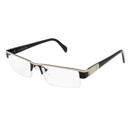 read top UK - Top Quality MEN Titanium alloy Eyeglasses Non spherical 12 Layer Coated lenses reading glasses+1.0 +1.5 +2.0 +2.5 +3.0 +3.5+4.0