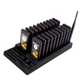 999ch беспроводной пейджинговой очереди вызова системы с 20 вызов каботажное судно пейджер + 1 клавиатура передатчик для ресторан фуд-корт Кафе Отель