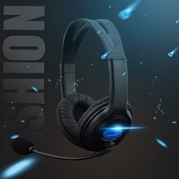 Discount sony playstation ps4 - Ffor PS4 Sony PlayStation 4   PC Computer 3.5mm Wired Headphone Host Game Headphones With Microphone Headset