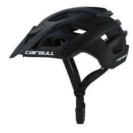 $enCountryForm.capitalKeyWord UK - 280g 6 Color TRAIL XC Adjustable Visor Road Bicycle Helmet MTB Cycling Bike Mountain Sports In-mold Extra Light Helmet