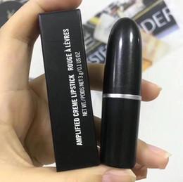 $enCountryForm.capitalKeyWord Australia - brand designer matte Lipstick M Makeup Luster Retro Lipsticks Frost Sexy Matte Lipsticks 3g 24 colors lipsticks with English Name