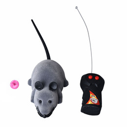 rc toys 2019 - HOT Scary RC Remote Controller Simulation Plush Mouse Mice Kid Toy Gift AUG 31 cheap rc toys