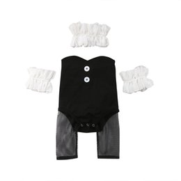 2018 Newborn Baby Girl Bunny Romper Top+Pants+Wristband+Collar 5Pcs Outfit  Summer Cosplay Set Cute Clothes 87be92447