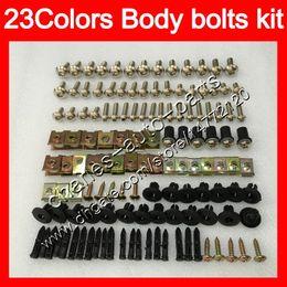 China Fairing bolts full screw kit For YAMAHA YZFR1 04 05 06 YZF R1 YZF 1000 YZF1000 YZF-R1 2004 2005 2006 Body Nuts screws nut bolt kit 25Colors cheap r1 fairing bolt kit suppliers