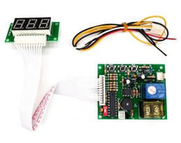Led power suppLy board online shopping - with cm white lead digits timer board coin operated Timer Control Board Power Supply for coin acceptor selector device etc
