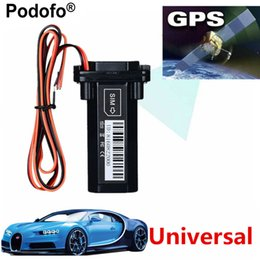 $enCountryForm.capitalKeyWord Australia - Podofo Newest Mini GPS Tracker Vehicle Tracking Device Motorcycle Car GSM SMS locator with Real Time Tracking System Built-in