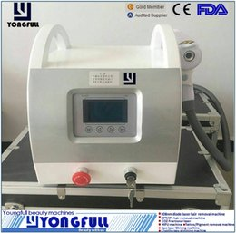 Laser Tattoo Removal Ce Canada - CE LVD ECM approved multi wavelength Nd.yag laser tattoo pigment removal machine