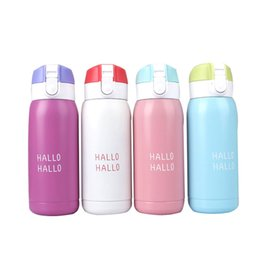 Discount thermos thermal bottle - Kawaii Lovers Gift High Quality Stainless Steel Vacuum Flask Thermal Cup Coffee Thermos Mug Travel Water Bottle
