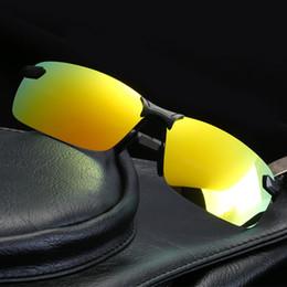$enCountryForm.capitalKeyWord Australia - Polarized Driving Sunglasses Men Women Classic Outdoor Sports Rimless Metal Polarized bicycle Sunglasses Male Goggle Travel Glasses UV400