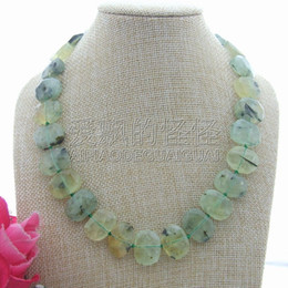 "$enCountryForm.capitalKeyWord Australia - N082104 19"" Natural 15x20mm Faceted Nugget Necklace"