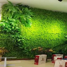 $enCountryForm.capitalKeyWord Canada - Anmas Home 3pcs 40 *60cm Green Grass Artificial Turf Plants Garden Ornament Plastic Lawns Carpet Wall Balcony Fence for Home Decor