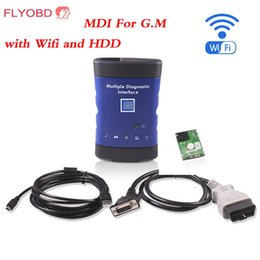 Discount free car diagnostic software - 2017 Hot sale Car Styling Diagnostic tool for GM MDI scanner for gm mdi wifi with hdd software DHL Free Shipping