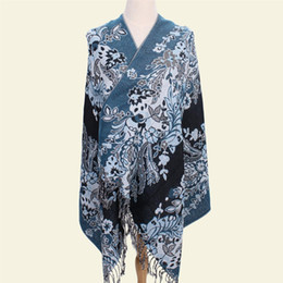 $enCountryForm.capitalKeyWord UK - Winter New Women Shawls Chinese Style Shawl Cotton Linen Scarf Tassels Scarves Jacquard Echarpes Warm Wrap Oversized