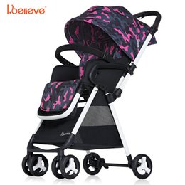 $enCountryForm.capitalKeyWord Canada - I.believe Baby Stroller I-S015 Sit&Lie High Landscape Portable Foldable Direction changable Pram Pushchai SGS certification