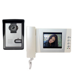 Security SyStem doorbell online shopping - 4 quot LCD Video Door Phone Intercom Doorbell System Video Door bell Intercom Doorphone Kit for Home Security