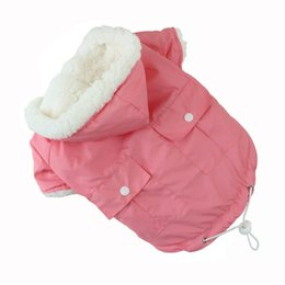 $enCountryForm.capitalKeyWord UK - Soft Cotton Pet Clothes Jacket Hoodie Winter Dog Clothes For York French Bulldog Dogs Pets Clothing Super Warm Padded Dog Coat