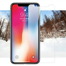 $enCountryForm.capitalKeyWord Australia - For iphone 6s glass For Apple iphone 8 Plus X XS Max XR 4 4s 5 5s 5c SE 6 7 Plus Touch 6 5 Screen Protector Tempered glass Guard Film 2.5D