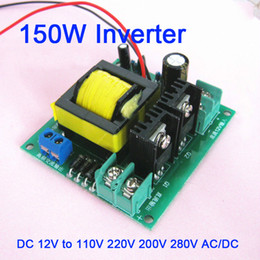 $enCountryForm.capitalKeyWord NZ - Freeshipping 150W Inverter Transformer Converter Boost Input Voltage DC 12V to 110V 220V 200V 280V AC DC Output Power
