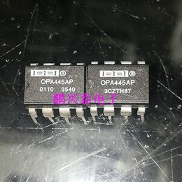 amp electronics NZ - OPA445AP . OP-AMP , AMPLIFIER Integrated circuits ICs ,dual in-line 8 pins plastic package Chips , PDIP8   OPA445 Electronics Components
