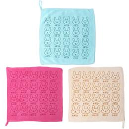 Green Fiber Australia - 1 X Baby Towel Infant Newborn Bib Children Microfiber Towel Cute Cartoon Printing Bamboo Fiber Towels Beige, Army Green, Red