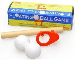 Ingrosso Blow Magic gioco di palla classico per bambini educativo precoce puzzle divertente in legno Magic Toy per bambini Schiuma galleggiante Magic Ball 192set