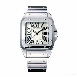 China Casual Men Square Watches Geneva Genuine Stainless Steel Quartz Watches Fashion Mens Watches Male Wristwatch cheap quartz analog rectangle watch suppliers