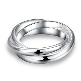China Wholesale Silver Plated Ring New Design Jewelry Finger Ring For Lady Modern Stylish Party Rings SPCR167 suppliers