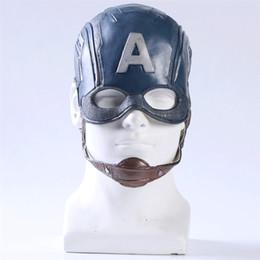 $enCountryForm.capitalKeyWord NZ - Cosplay Captain America Mask Avengers Infinity War Steven Halloween Cosplay Costume Dress Helmet Theme Props Party