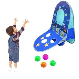 Playhouse Games Australia - Children Tent Game Play Tent House Dry Ball Pool Tipi Teepee Foldable Playhouse Indoor Outdoor Toy for Kid Boy Girl Baby