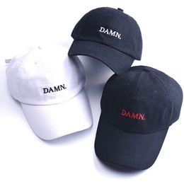 8 Photos Kendrick Lamar Cap Canada - DAMN snapback baseball caps for men and  woman Embroidered Dad Hat 1a6618812400