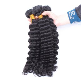Queen Brazilian Deep Wave Hair UK - Deep Wave Brazilian Hair Weave Bundles Honey Queen Hair Products 1Pcs Remy Natual Human Hair Weaving
