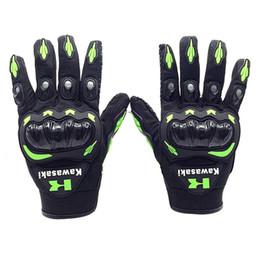 Full Finger Leather Motorcycle Gloves NZ - FLY5D All Seasons Full Finger Bike Gloves Motorcycle Gloves motocross Bike Motorcycle Racing Leather for men fashion item