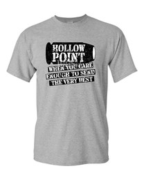 Men T Shirt Gun Australia - Hollow Point, When You Care Enough To Send The Best Funny Gun Laws T-Shirt (767) T Shirt Men Male Summer Short Sleeve Cotton