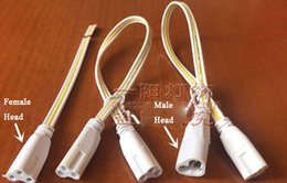 Flat Wire Lighting Australia - Three Hole Bendable Connecting Cable 3 Core Flat Wire Extension Cord Connecting Wire Female Male Plug for LED Bracket Light Fluorescent Lamp