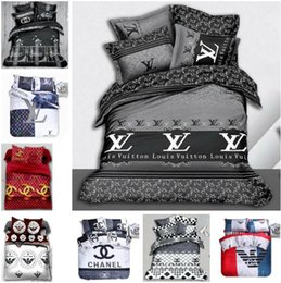 SheetS bedS online shopping - High quality Reactive Printing cotton Bedding Set include duvet cover Bed sheet Pillowcase Bed linen Sheet Bedding Supplies